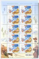 2010. Kazakhstan, Europa 2010,  Sheetlet Of 10v,  Mint/** - Kazakhstan