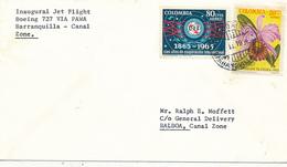 COLOMBIA - 1966 , Brief Nach Balboa - Colombia