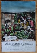 Chasse à La Bête Du Gévaudan Par Monsieur Antoine - CPSM GF Colorisée - (n°9535) - Frankrijk