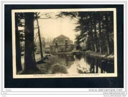 ABBAYE DE LANGONNET Canal ( Derivation De L' Elle ) Et Scierie - France
