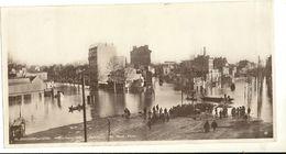 BOULOGNE Sur SEINE: Inondation 1910. Panorama Du Rond Point ..Format 14 X 27 Cm 157 - Boulogne Billancourt