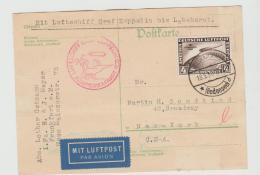 W-L076 / Südamerikafahrt 18.5.30, Friedrichshafen - Lakehurst - Briefe U. Dokumente