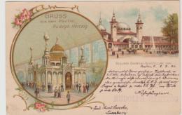 Kra162 / Ganzsache, Gewerbeausstellung Berlin 1896 - Allemagne