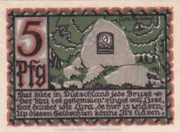 Notgeld Stadt OSMABRÜCK : 5 Pfennig - [ 3] 1918-1933 : République De Weimar