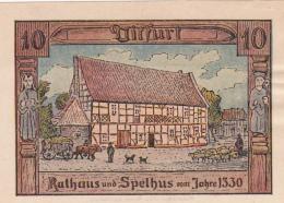 Notgeld Stadt DITFURT : 10 Pfennig - [ 3] 1918-1933 : Weimar Republic