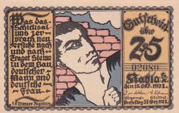 Notgeld  : 25 Pfennig - Die Länge Der Staati.Eisenbahnen Deutschland 1835 - 1920 - [ 3] 1918-1933 : République De Weimar