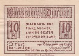 Notgeld  : 25 Pfennig - [ 3] 1918-1933 : Weimar Republic
