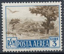 Stamp San Marino 1950 Airmail MNG - Poste Aérienne