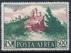Stamp San Marino 1950 Airmail 500l  MNG - Airmail