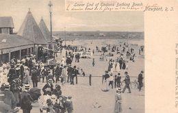 USA - Newport - Lower End Of Eastons Bathing Beach - Newport