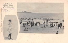 USA - Newport - Bathers At Eastons Beach - Newport