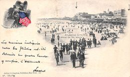 USA - Greetings From Atlantic City - Scene On The Beach - Atlantic City
