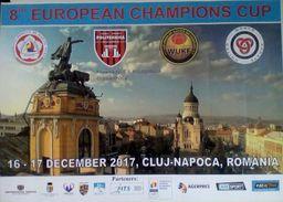 ROMANIA -CLUJ- NAPOCA - WUKF - KARATE-DO - 8 Th. EUROPEAN CAMPIONS CUP-Poster (42 X 30 Cm) - Sports De Combat