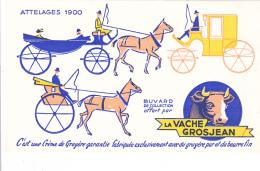 Buvard - La Vache Grosjean - Attelages 1900 - Dairy