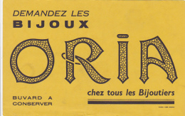 Buvard - Bijoux Oria - Löschblätter, Heftumschläge
