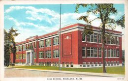 USA - Rockland - High School - Etats-Unis