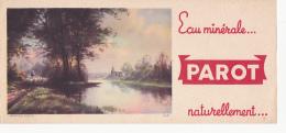 Buvard - Eau Minéral Parot - Buvards, Protège-cahiers Illustrés