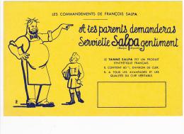 Buvard - Les Commandements De François Salpa - Blotters