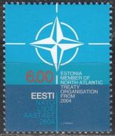Eesti 2004 Michel 492 Neuf ** Cote (2013) 1.00 Euro Adhésion D'Estonie à L'OTAN - Estonie