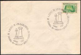 CHESS - CUBA HABANA 1967 - IV TORNEO DE AJEDREZ DE LOS EJERCITOS DE LOS PAISES AMIGOS - Scacchi