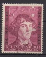 Deutsches Reich (Generalgouvernement) / 400. Todestag Von Nikolaus Kopernikus /  MiNr.: 104 - Deutschland