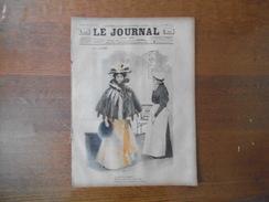 LE JOURNAL DU 22 JANVIER 1896 DESSINS DE F. BAC ,DUFOUR,GEORGE GRELLET ,BOICHARD CHANSON DES INGENUES,L.BERYL,PUBLICITES - Livres, BD, Revues