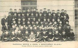 MONTLHERY - Institution Resve & Gros, Groupe D'élèves Du Moyen Quartier. - Montlhery