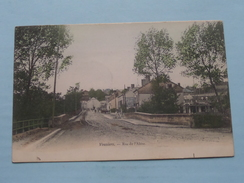 Rue De L'Aisne () Anno 1904 ( Voir Photo Svp Pour Détail ) ! - Vouziers