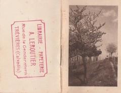 PETIT ALMANACH 1947 PUB LIBRAIRIE PAPETERIE A . LEROUTIER - TREVIERES - CALVADOS - Calendriers