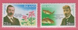1989 ** Islande  (sans Charn., MNH, Postfrish)    Yv  663/4Mi  710/11FA  747/8 - Neufs