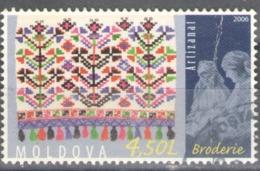 Moldova Used 2006 National Costumes And Handicrafts - Moldova