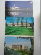 D155973 US WI  Kenosha Wisconsin  -Carthage College  3 Postcards - Kenosha