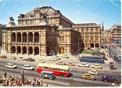 Autriche - Vienne - Staatsoper - P. Ledermann Nº1307 - Ecrite, Timbrée, Dentelée - 3615 - Altri
