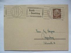 GERMANY 1936 Postkarte `Ernte Danktag` Sonderstempel - Buckebert B Hameln - Germany