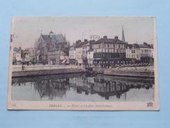 Le Canal Et L'Eglise Saint-Urbain ( 118 - ND Phot ) Anno 1918 ( Voir Photo Svp Pour Détail ) ! - Troyes
