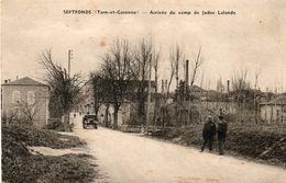 Septfonds -       Arrivée  Du  Camp  De  Judes  Lalande - Francia