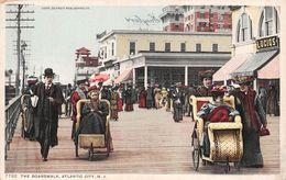 USA - Atlantic City - The Boardwalk - Atlantic City