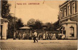 CPA Amsterdam. Ingang Artis. NETHERLANDS (624292) - Amsterdam