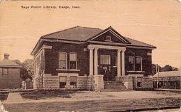 USA - Osage - Sage Public Library - Etats-Unis