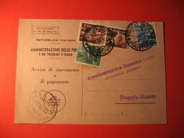 AMMINISTRAZIONE DELLE POSTE E DEI TELEGRAFI REPUBBLICA ITALIANA     488 - 6. 1946-.. Repubblica