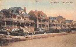 USA - Cape May - Beach Avenue - Etats-Unis
