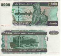 MYANMAR   1'000 Kyats    P77b  UNC - Myanmar
