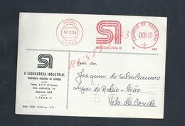 PORTUGAL EMA SUR CARTE COMMERCIALE DE 1974 PICOAS LISBOA : - 1910-... République