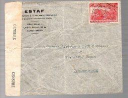 CONGO - RU WW2 - Censure Aa Usumbura 1944 Vers Afrique Du Sud + Certificat - RRR -   NW01 - 1924-44: Lettres