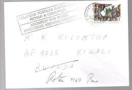 CONGO -  RWANDA  - Periode GENOCIDE 1994 - Relations Postales Suspendues -   NW01 - Katanga