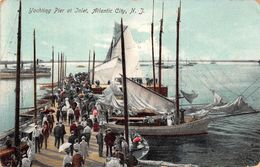 USA - Atlantic City - Yachting Pier At Inlet 1909 - Atlantic City