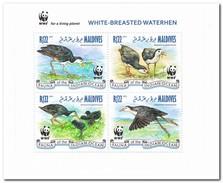 Maldiven 2013, Postfris MNH, WWF - Maldiven (1965-...)