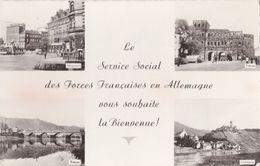 Carte De Bienvenue FFA : Trèves, Mayence, Coblence;  Trier, Mainz, Coblenz - Allemagne