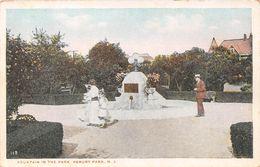 USA - Asbury Park - Fountain In The Park - Etats-Unis