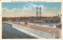 USA - South Norwalk - The New Washington St Bridge - Norwalk
